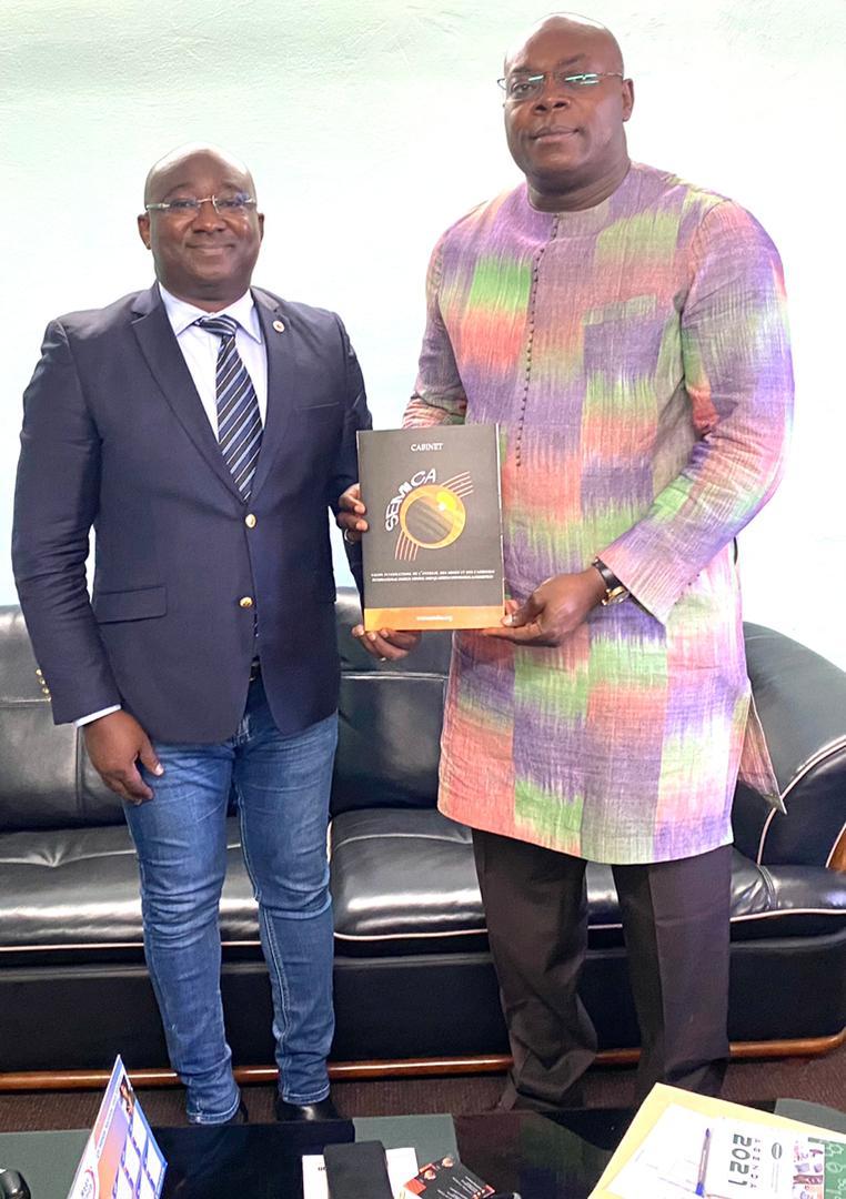 Monsieur Augustin BAMBARA, Directeur de Cabinet du Ministre de l'Industrie, du Commerce et de l'Artisanat du Burkina Faso, Une autorité visionnaire et pragmatique